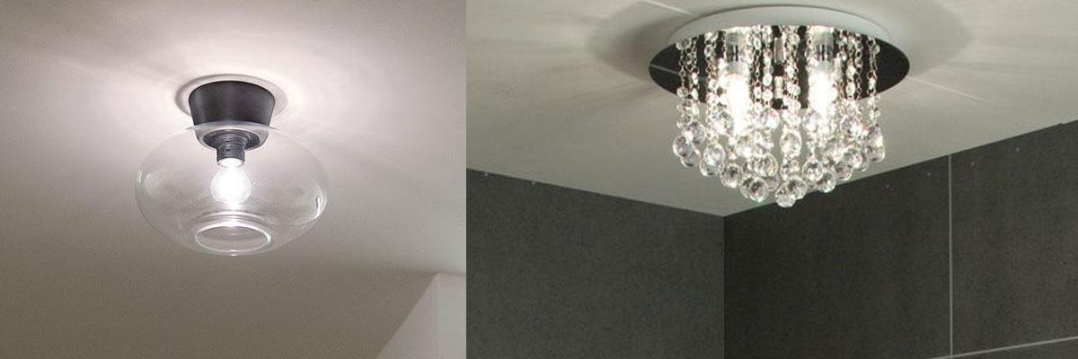Baderomslamper Plafonder