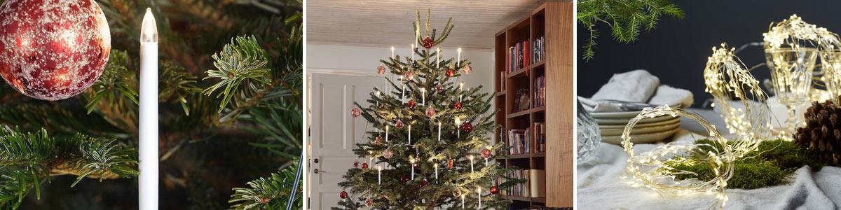 Juletrelys og Juletrebelysning