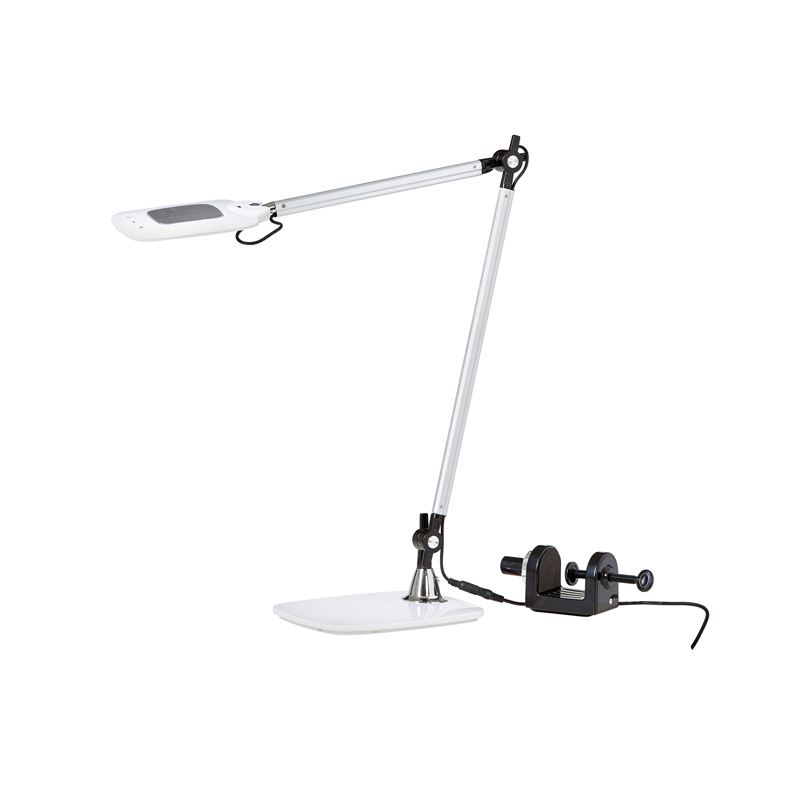 Vara Hvit/Alu LED/Dimmer/CTC Arbeidslampe Ah Belysning