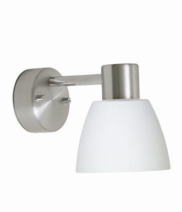 Bizzo Alu/Opal Ip21 Vegglampe Belid