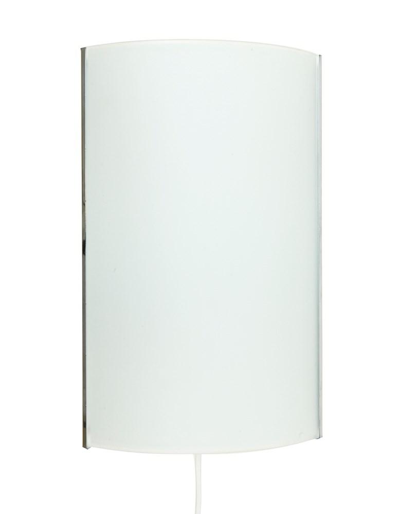 Exit Opal/Hvit Vegglampe Belid