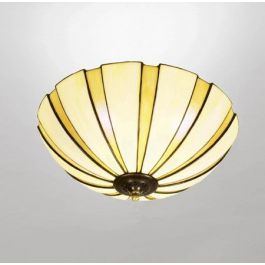Coupe Amber Tiffany 45 cm Taklampe