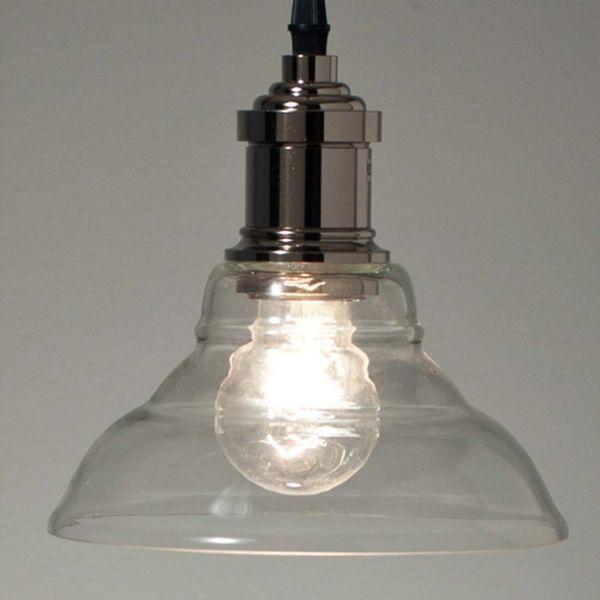 Nilla Sølv/Glass 18cm Taklampe