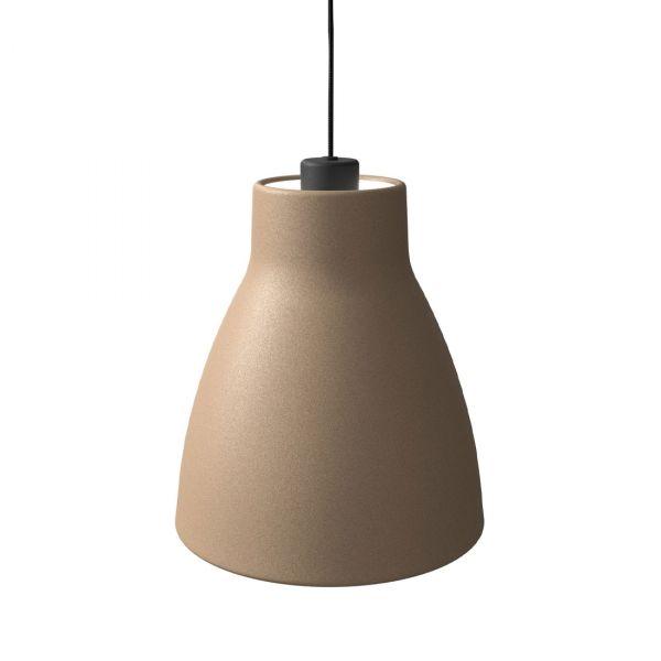 Gong Taklampe 25cm Sand/Svart