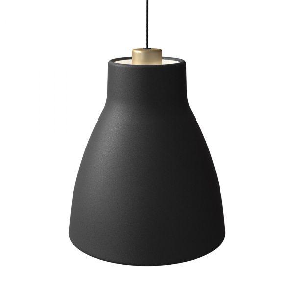 Gong Taklampe 25cm Svart/Gull
