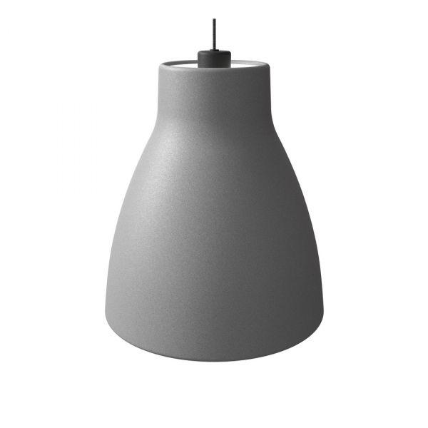 Gong Taklampe 32cm Betong/Svart