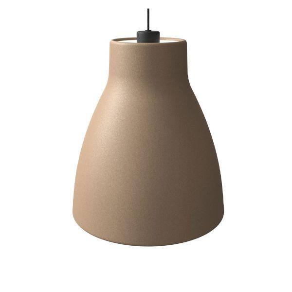 Gong Taklampe 32cm Sand/Svart