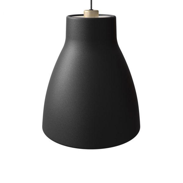 Gong Taklampe 32cm Svart/Gull