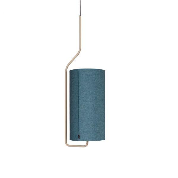 Pensile Taklampe Sandfarget/Blå 100cm