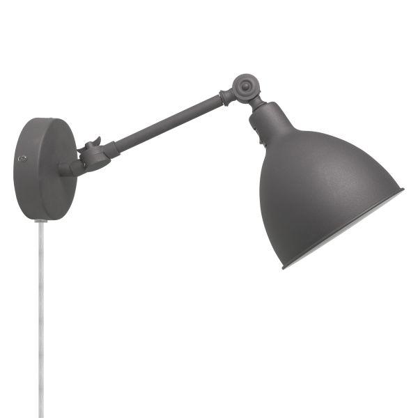 Bazar Mini Grå Vegglampe