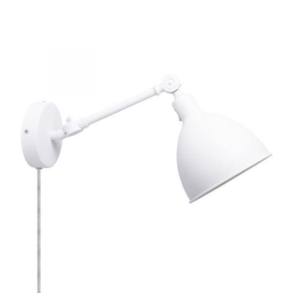 Bazar Mini Sandhvit Vegglampe