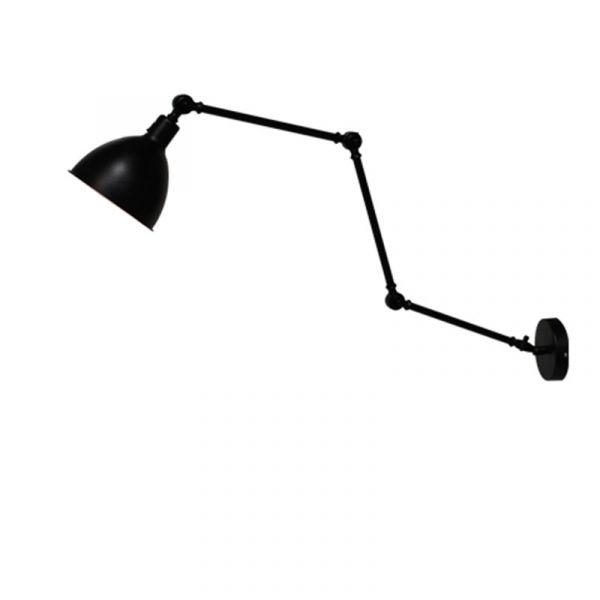 Bazar Svart Vegglampe
