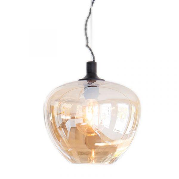 Bellissimo Amber 28cm Taklampe