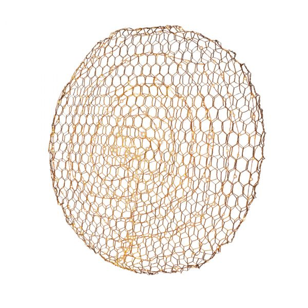 Hayden Vegglampe LED 70 cm Gull