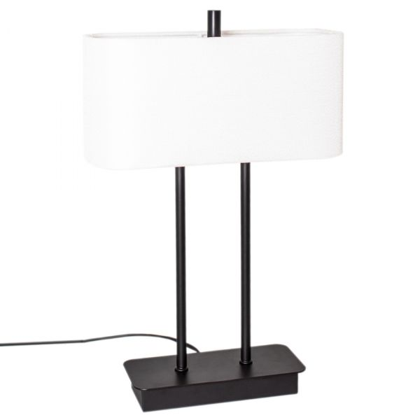 Luton Bordlampe H56cm Svart / hvit