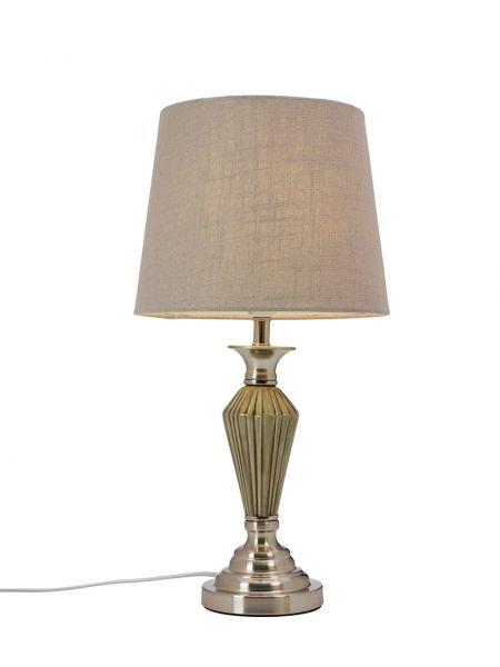 Majlis Antikk/Grå Bordlampe