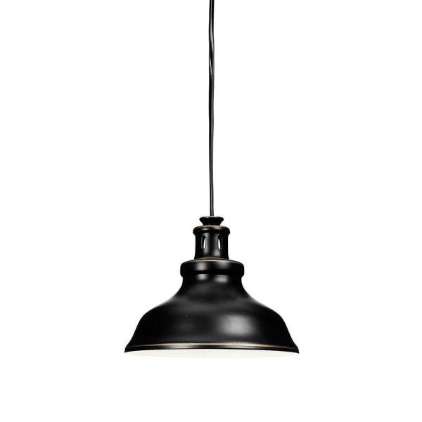 New Haven Svart Vinduslampe