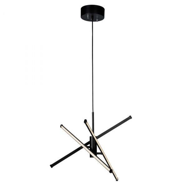 Strazza Taklampe LED 3-trinns dimmer Svart 62cm