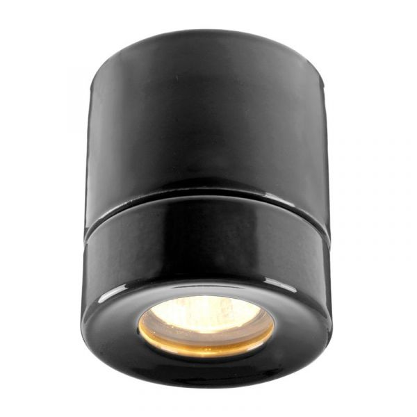 Light On Svart Ip44 Bastu