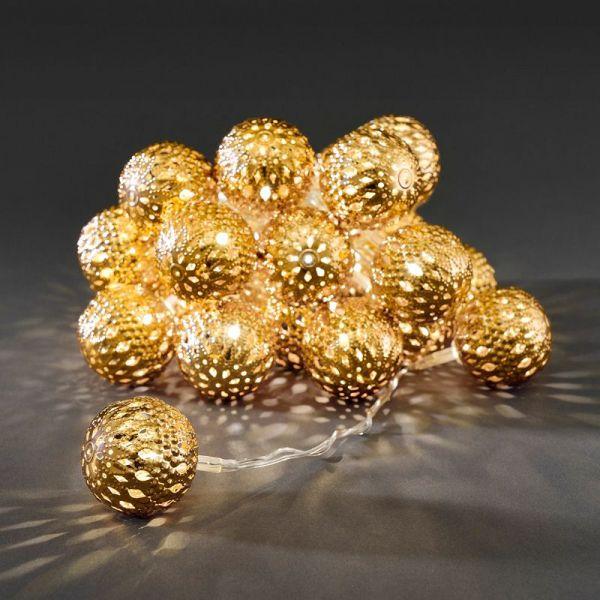 Lenke 24 Baller Messing LED
