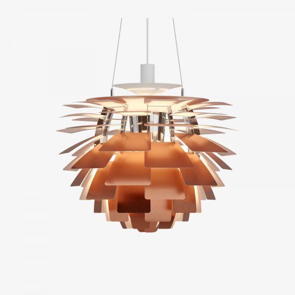 PH Artichoke Kobber 60cm Taklampe