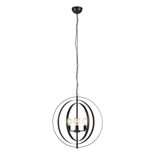 Orbit Taklampe 70cm Matt Svart