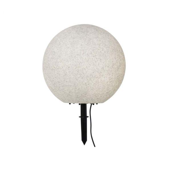 Ball Grå 40cm Hage Dekorasjon