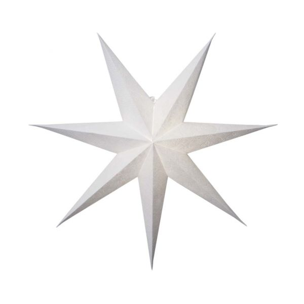 Decorus Hvit 75cm Pappstjerne