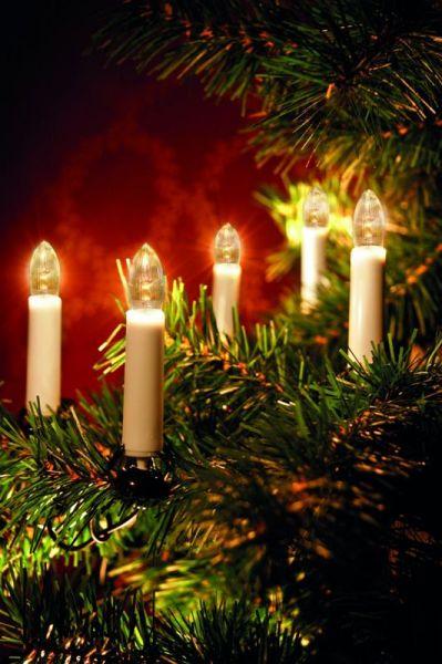 Juletrebelysning 16-LED Inne