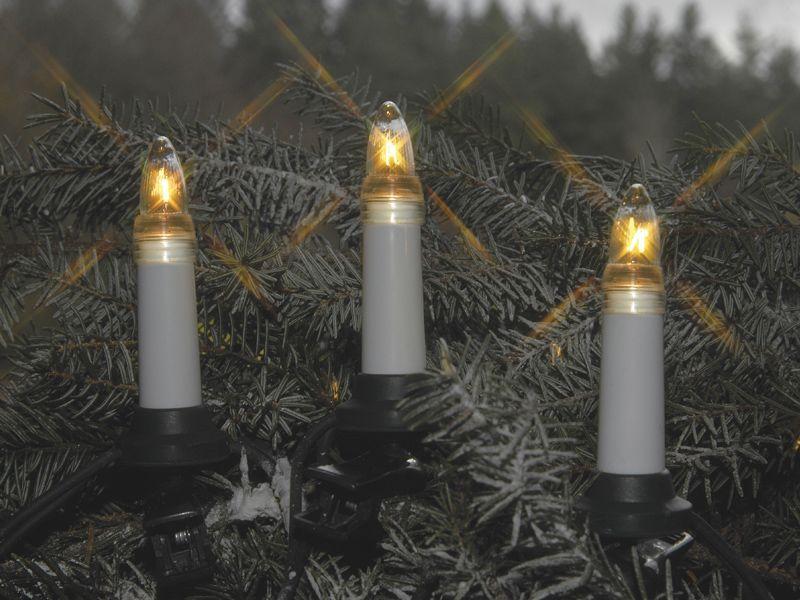 Juletrebelysning 25-LED Inne/Ute