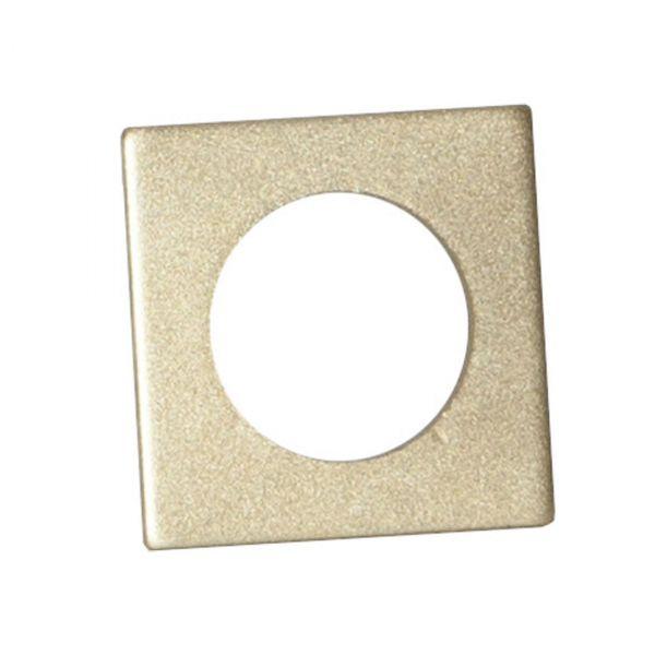 Lett mansjett 7-pakks Accessorize Square 3,2 cm gull