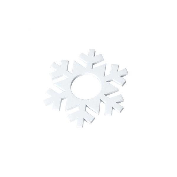 Snøfnugg Hvit 7-pakke Mansjett