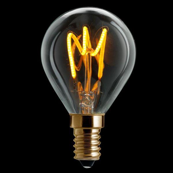 Gold Kule E14 Dimbar LED 3W/150L