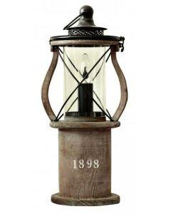 1898 Trä Bordslampa från Cottex