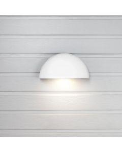 Arc Vägglampa Ute 27cm Vit 3000K från Hide-A-Lite