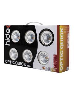Optic Quick ISO Spotlight 6W 6-pack Vit från Hidealite