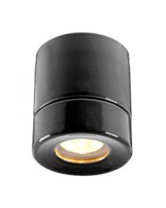 Light On Svart Ip44 Bastu från Ifö Electric