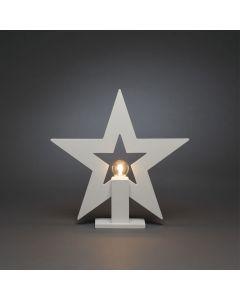 Stjärna Stående 36cm Trä Vit E14 från Konstsmide