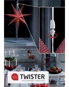 Twister 2-P Vit från Markslöjd
