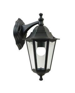 Cardiff Vägglampa Ner Svart IP44 från Nordlux