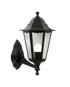 Cardiff Vägglampa Upp Svart IP44 från Nordlux
