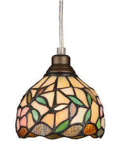 Hibiskus Tiffany 12cm Fonsterpendel från Nostalgia