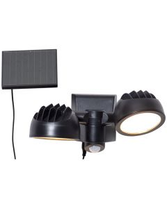 Powerspot Solcell Spotlight Duo 15/3510Lm Rörelsesensor från Star Trading