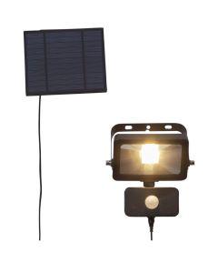 Powerspot Solcell Vägglampa 40/800Lm Rörelsesensor från Star Trading