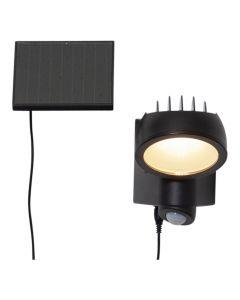 Powerspot Solcell Vägglampa 5/150Lm Rörelsesensor från Star Trading