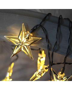 Starling Ljusslinga Stjärnor 135cm Batteri från Star Trading