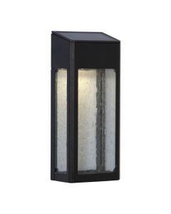 Wally Solcell Vägglampa 11Lm 20cm Svart från Star Trading