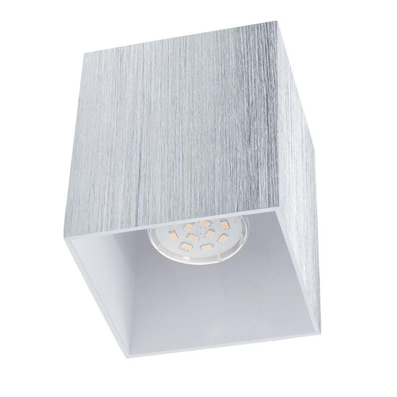 Bantry Alu/Hvit 10X10 cm Led Takspotlight Eglo