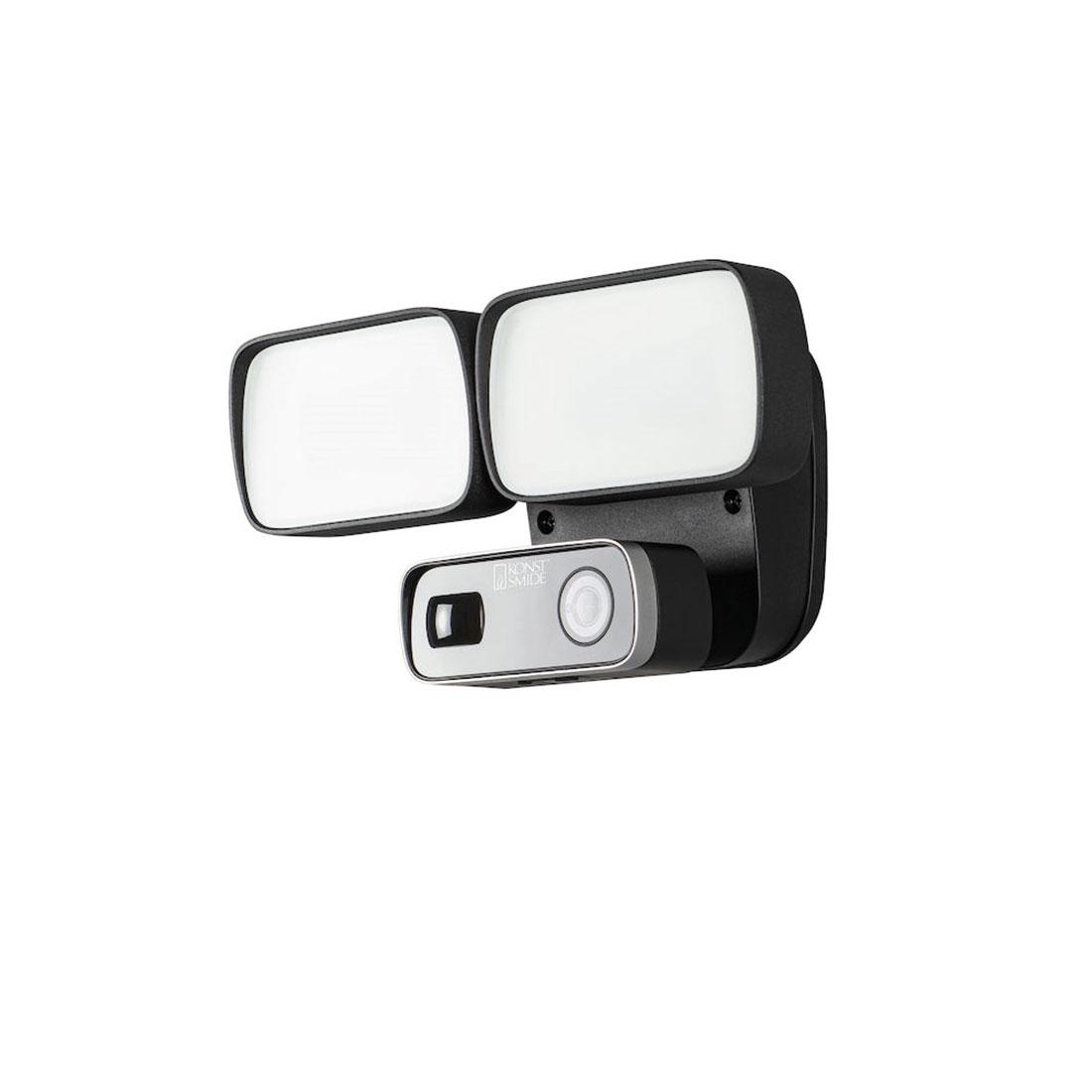 Smartlight 24W Kamera, høyttalere, mikrofon og Wifi svart