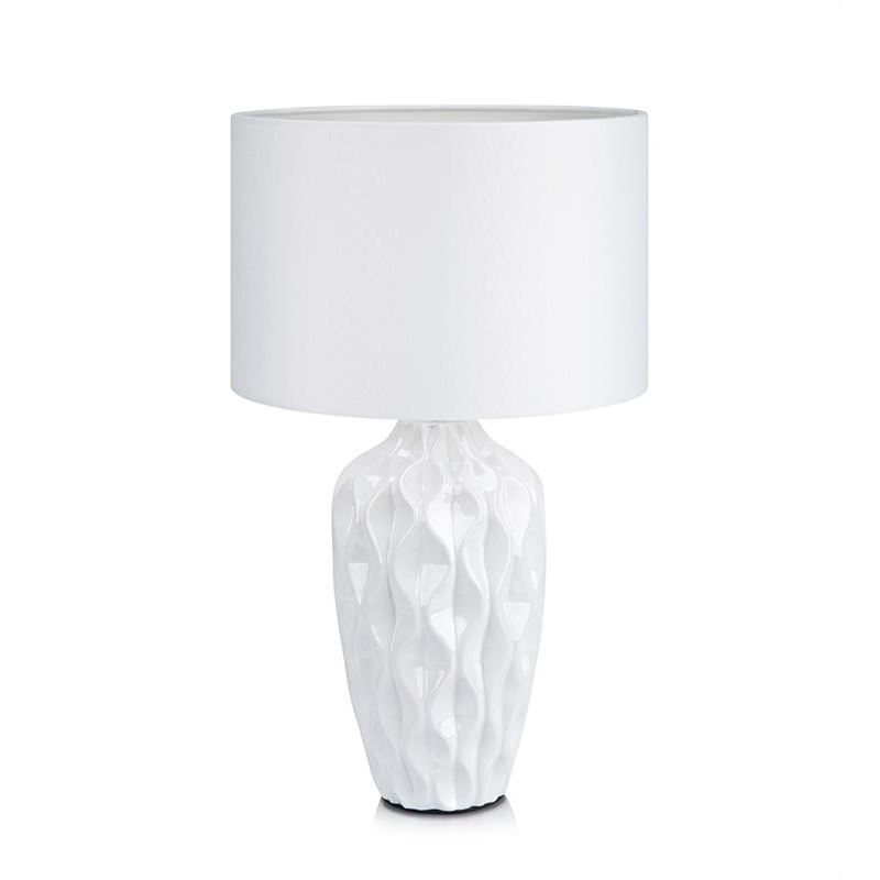 Angela Hvit Bordlampe Markslöjd